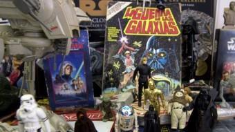 Productes ·'vintage' de 'Star Wars' QUIM PUIG