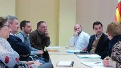 Reunió entre la diputació i els alcaldes i alcaldessa de l'Alcoià - el Comtat. B. SILVESTRE
