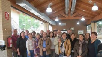 Anterior reunió de la Federació als locals de la Rajoleria de Paiporta. EL PUNT AVUI