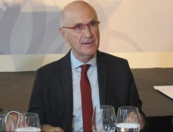 El candidat d'UDC, Josep Antoni Duran i Lleida, al col·loqui Barcelona Tribuna EUROPA PRESS