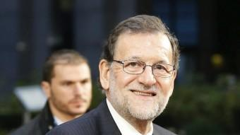 El president del govern espanyol, ahir a Brussel·les EFE
