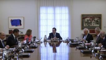 Imatge d'una reunió del Consell de Ministres durant aquest mandat REUTERS