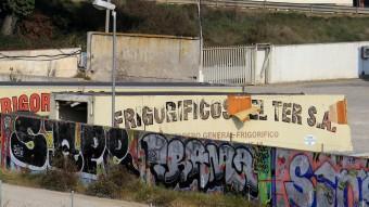 Les antigues instal·lacions de Frigorífics del Ter, en una imatge recent M. LLADÓ