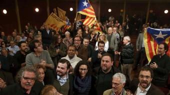 El míting final que ahir van celebrar els republicans a Sabadell, la ciutat més important que governen EFE
