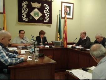 Palau-saverdera va celebrar ahir un ple extraordinari, a petició de CiU. M.VICENTE