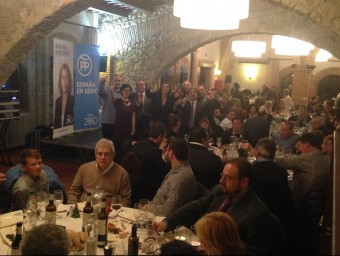 200 persones van assistir al sopar del PP EL PUNT AVUI