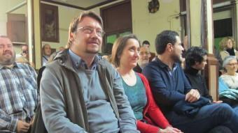 Domenech, durant l'acte de final de campanya EUROPA PRESS