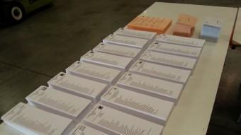 Butlletes electorals en un dels col·legis que ha obert aquest diumenge EP