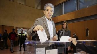 Francesc Homs ha votat en un col·legi de Taradell EFE