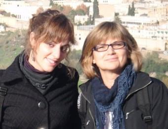 Carla Ferrerós i Natàlia Carbonell, dues de les autores del documental premiat ARXIU