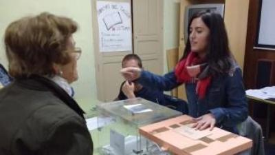 Col·legi electoral de Banyeres de Mariola. B. SILVESTRE