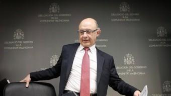 El ministre d'Hisenda, Cristobal Montoro, en una imatge d'arxiu. EL PUNT AVUI
