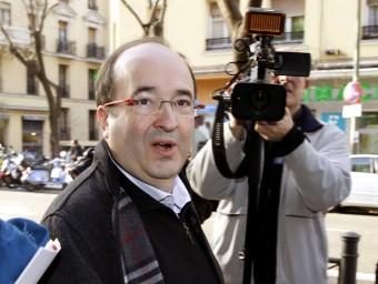 Miquel Iceta, aquest dilluns a Madrid EFE