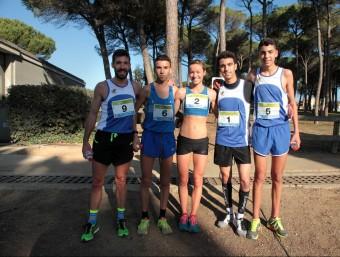 Serrano, Mechaal, Andrews i els Mahboub els cinc primers absoluts a Riudellots JOAN SABATER