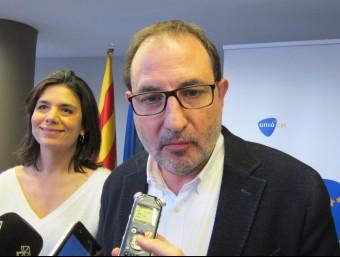 El secretari general d'UDC, Ramon Espadaler EUROPA PRESS