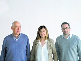 Els socis fundadors de Meypet, Andreu Serra, Cristina Castañé i Pere Mestre.  L'ECONÒMIC