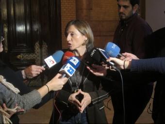Forcadelll, atenent els mitjans de comunicació EUROPA PRESS