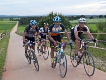 La primera edició de la Pirinexus Challenge la van completar 56 ciclistes