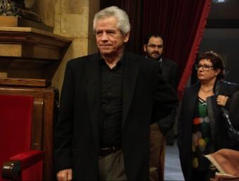 El diputat de Junts pel Sí i president de Súmate, Eduardo Reyes, aquest dijous al ple del Parlament ACN