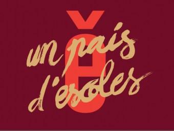 Cartell amb el lema de les Trobades 2016. EL PUNT AVUI