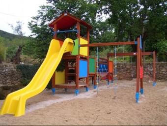 La renovació del parc infantil és, segons el consistori, una de les demandes de la població de Vimbodí i Poblet EPN