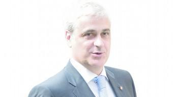 El conseller de Justícia , Germà Gordó, camí a una reunió Albert Salamé/ arxiu