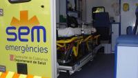 Un ferit greu i una vintena de lleus en un accident entre una moto, un taxi i dos busos a Barcelona