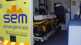 Mor un home a Terrassa en caure d'una alçada de tres metres mentre reparava una avaria a l'interior d'un local