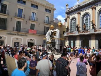 Cues al Teatre-Museu Dalí de Figueres, l'agost passat MANEL LLADÓ