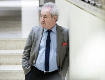 Irish novelist John Banville, author of The Blue Guitar. /  J. LOSADA