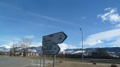 Una vista dels accessos al túnel del Cadí que uneix les comarques de la Cerdanya i del Berguedà. J.C