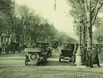 Barcelona's Passeig de Gràcia, around 1930. /  ARCHIVE