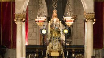 Cervera celebra el Cant de les Completes a l'església de Santa Maria. AJUNTAMENT DE CERVERA