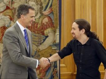 Iglesias s'ha reunit amb Felip VI aquest dilluns EFE