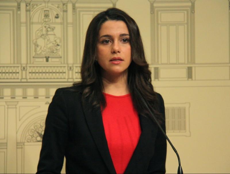Inés Arrimadas, líder de C's al Parlament de Catalunya ACN