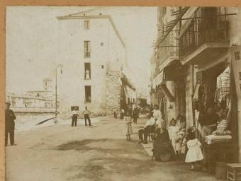 Rambla Verdaguer and Plaça Catalunya in Girona. ARCHIVE