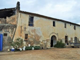 La finca de la Xalamera havia de ser convertida en un complex hoteler de luxe NÚRIA CARO