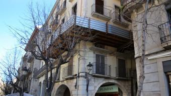 L'immoble del carrer Abeuradors on van tenir lloc els fets MANEL LLADÓ