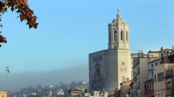 La catedral de Girona, en una imatge d'arxiu. MANEL LLADÓ