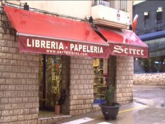 La llibreria Serret és tota una icona de la defensa del català a la Franja de Ponent. ORIOL GRACIÀ / L'EBRE