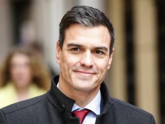 El secretari general del PSOE, Pedro Sánchez, ahir a Madrid EFE