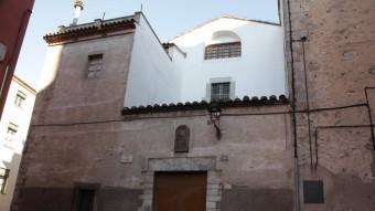 L'edifici que alberga les monges caputxines del carrer del Llop, des de fa 400 anys JOAN SABATER