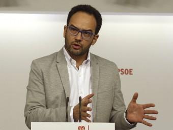 Antonio Hernando, portaveu del PSOE al Congrés EFE