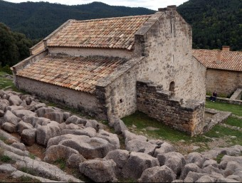 Una de les esglésies que es podran visitar, Sant Quirze de Pedret ACN