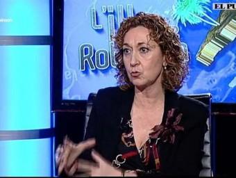 Ester Capella, diputada d'ERC, aquest dilluns a 'L'Illa de Robinson'