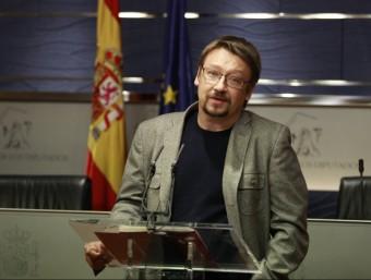 Xavier Domènech, diputat d'En Comú Podem, aquest dimecres al Congrés EUROPA PRESS