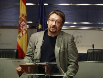 Xavier Domènech, portaveu d'En Comú Podem EP