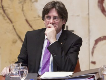 Carles Puigdemont, president de la Generalitat de Catalunya EFE