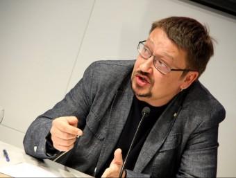 Xavier Domènech, líder d'EnComúPodem al Congrés ACN