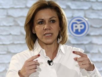 María Dolores de Cospedal, secretària general del PP EFE